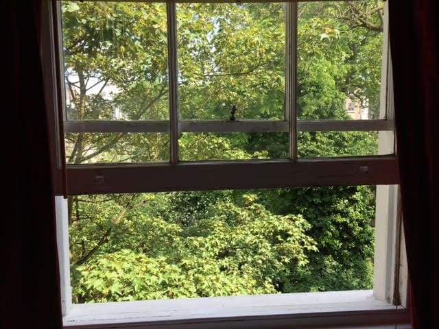 All windows have a view onto the gardens