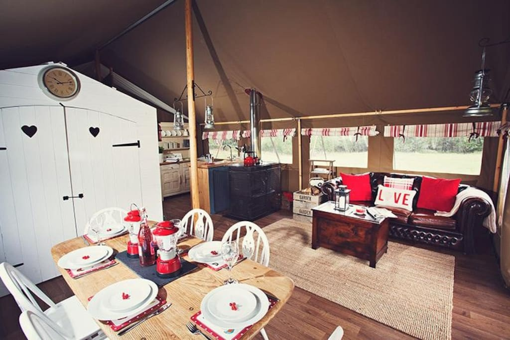 Luxury Glamping!