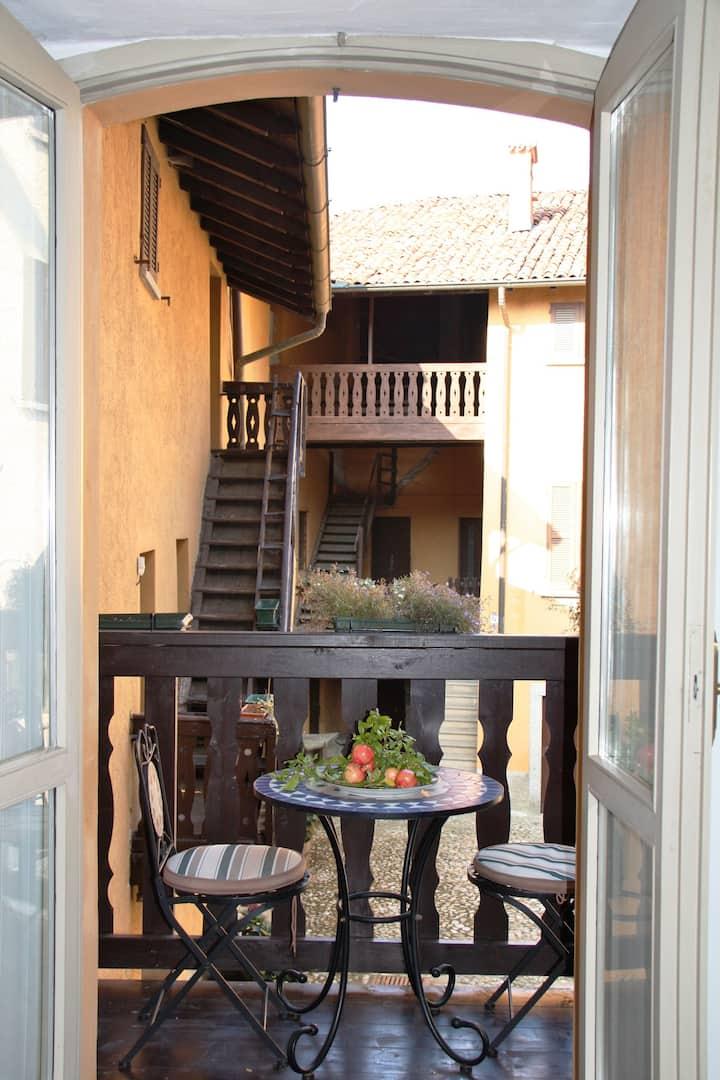 Romantico appartamento in borgo medievale