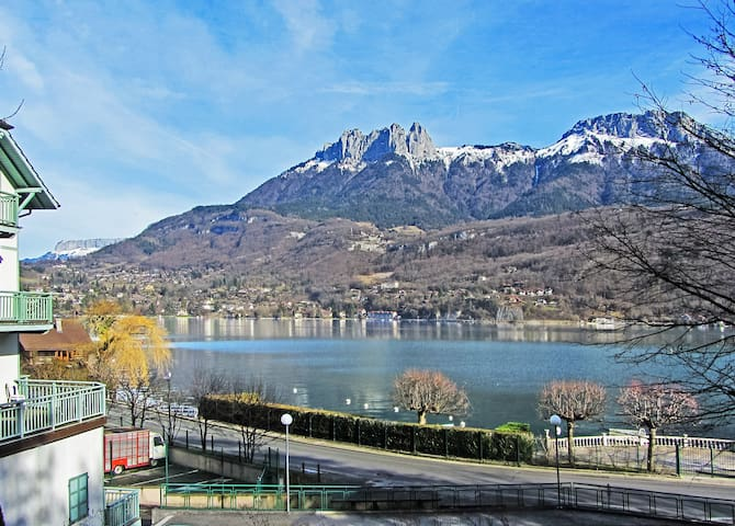 Annecy lakeside: modern 1-br 4 pers - Duingt - Wohnung