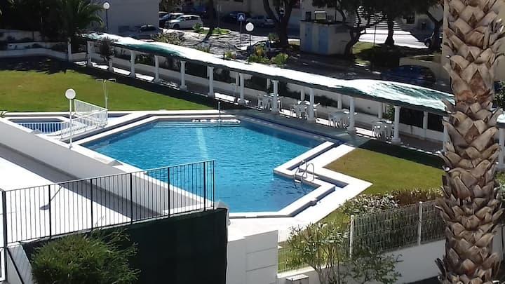 T1 c/ AC e piscina a 3 min. Marina Vilamoura