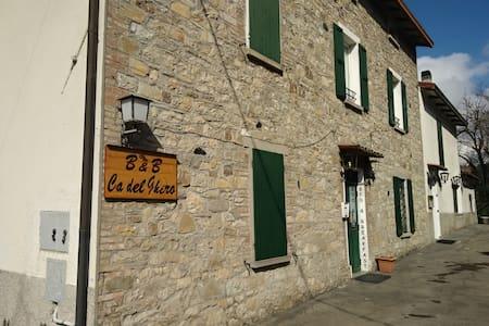 Cà del Ghiro Antica Casa sul Fiume a Calestano - Calestano - Szoba reggelivel