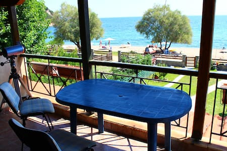 Gorgeous apartment 50m from beach - Daire