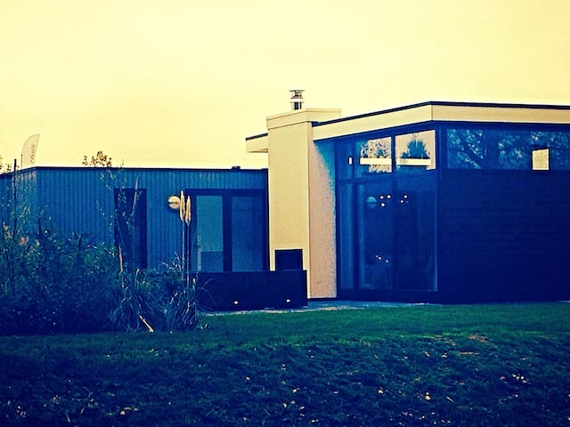 Luxe chalet close to A'dam & beach - Velsen-Zuid - Chalupa