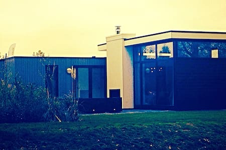 Luxe chalet close to A'dam & beach - Velsen-Zuid - 牧人小屋