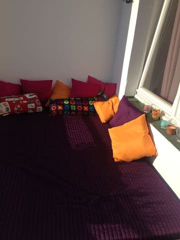 Ruhige, gemütliche und helle 2 Zimmer Wohnung - Düsseldorf - Flat