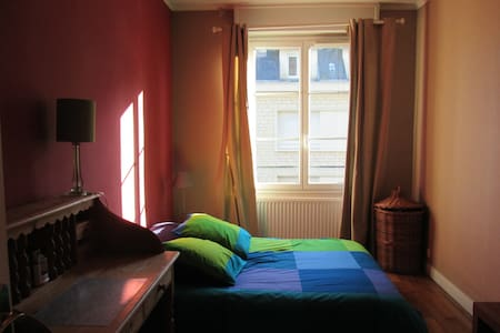 Double bedded room in the center of Caen - Caen - Apartment