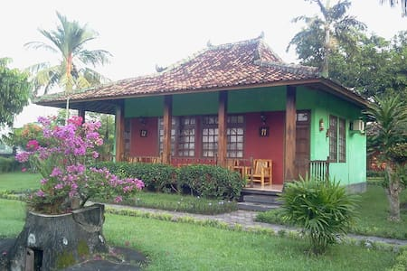 Cottage with Good View of Prambanan Temple - Sleman Regency