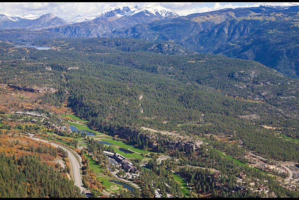Ariel view of  Tamarron Lodge @ Glacier Resort