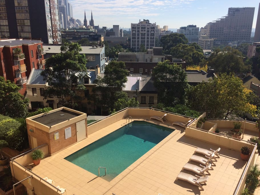 The Swimming-pool nested in the best part of Sydney