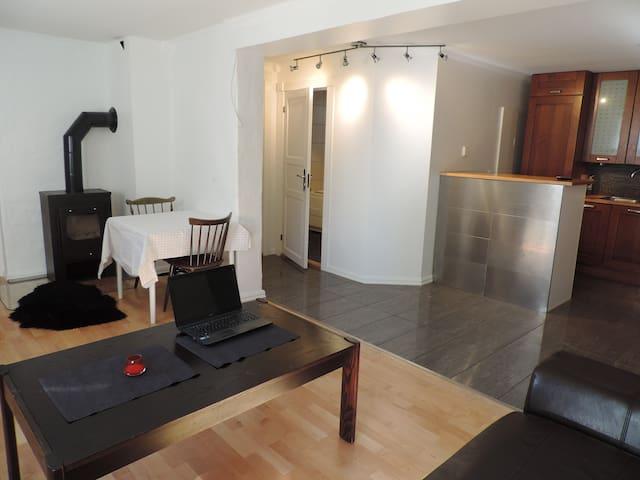 Hel leilighet i Molde sentrum med spa bad. - Molde - Wohnung