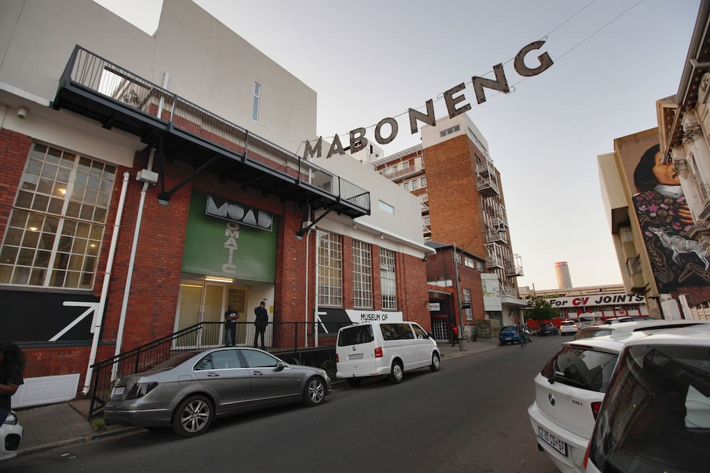 Rooftop City Living Maboneng Apartments For Rent In