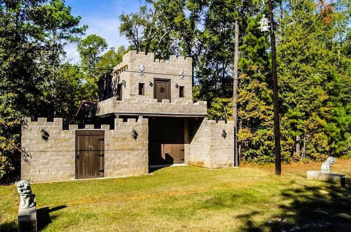 The Castle at Lake Livingston Village