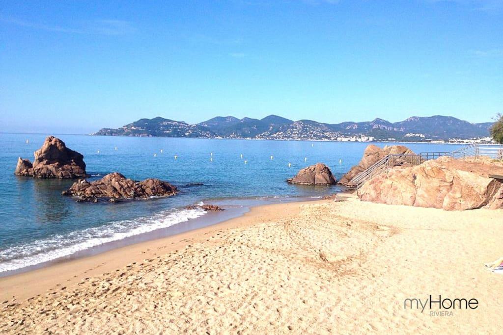 Location Cannes à 50 mètres des plages