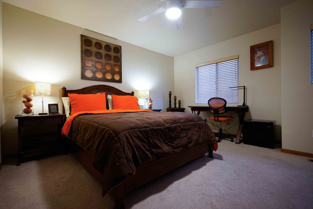 Master Bedroom Private Bathroom With Private Gym Houses For Rent In Loveland Colorado United