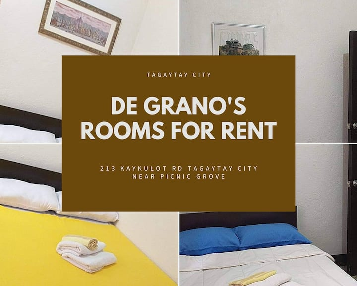 Budget Rooms for rent