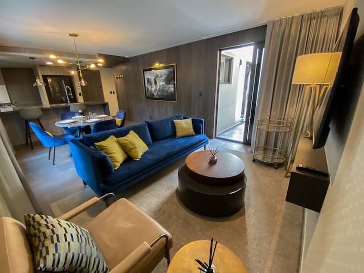Exclusive and peaceful 2BD with private terrace