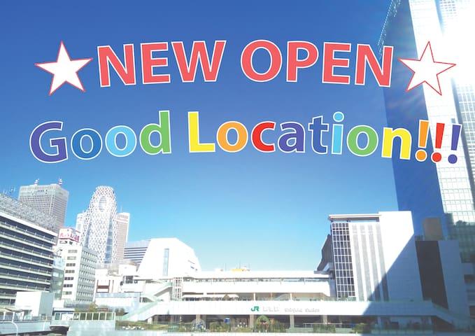 ☆NEW OPEN☆good location in Tokyo!