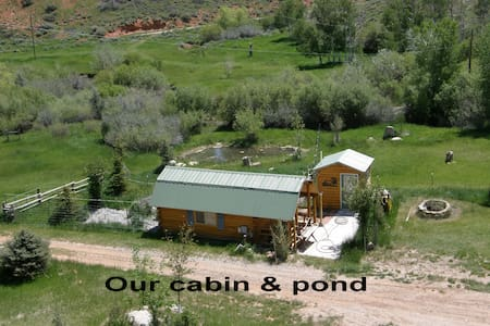 The Cabin on Squaw Creek - Lander - Cabaña