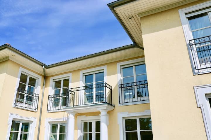 Villa am Steinhuder Meer -DZ-mit Pant.Küche,Garten