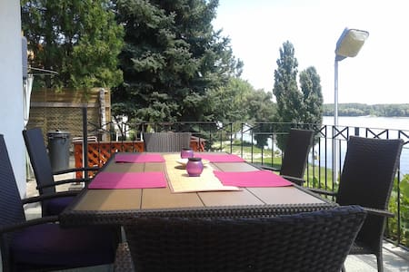 Danube River view weekend house