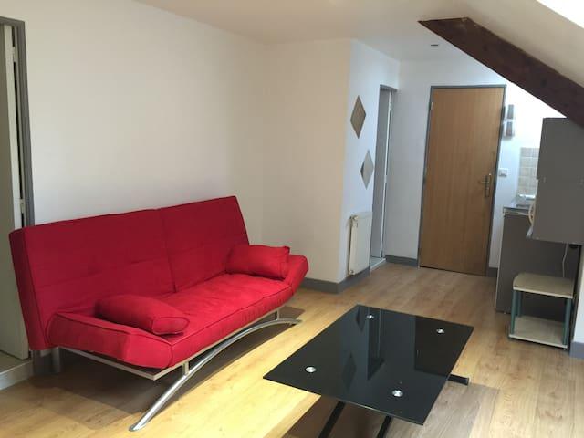 Studio au cœur de Montluçon - Montluçon - Apartment