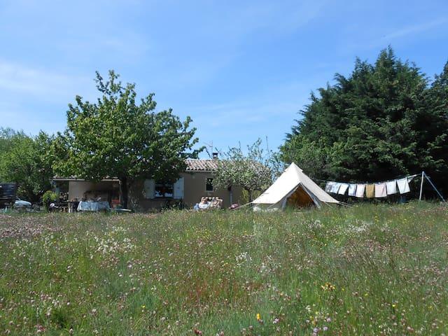Notre tente saharienne pour votre zen'itude - Chalencon - Tent