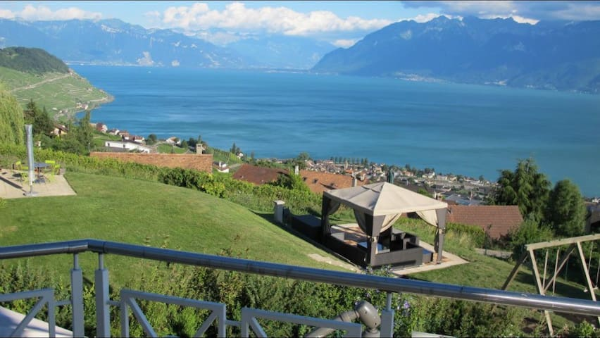 Panoramic Lake view - Bourg-en-Lavaux - House