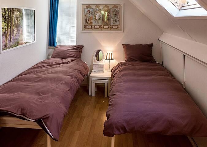 (kinder-) slaapkamer  met dakraam
