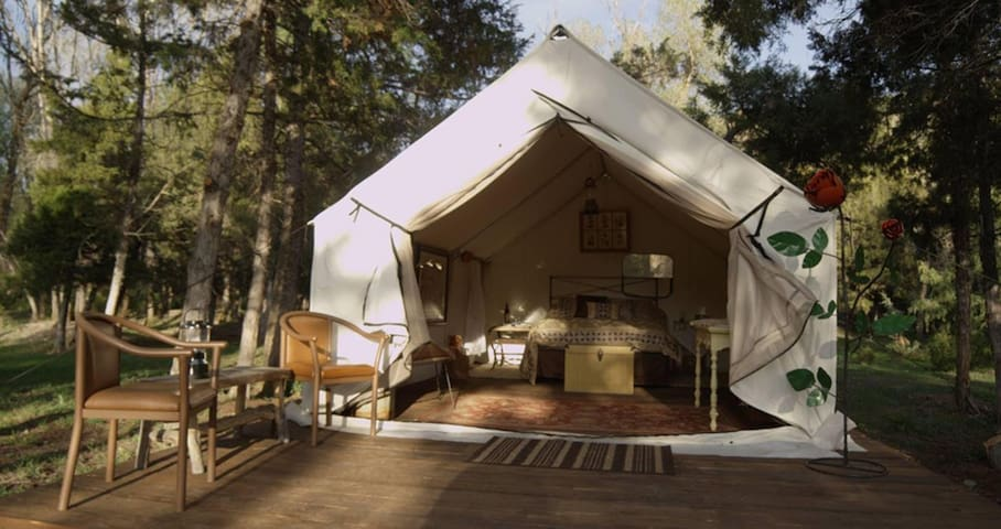 Glamping tents on a 80 acre ranch! - Helena - Sátor