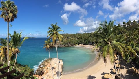 PRIVATE BEACH and Espectacular view  of Samana Bay
