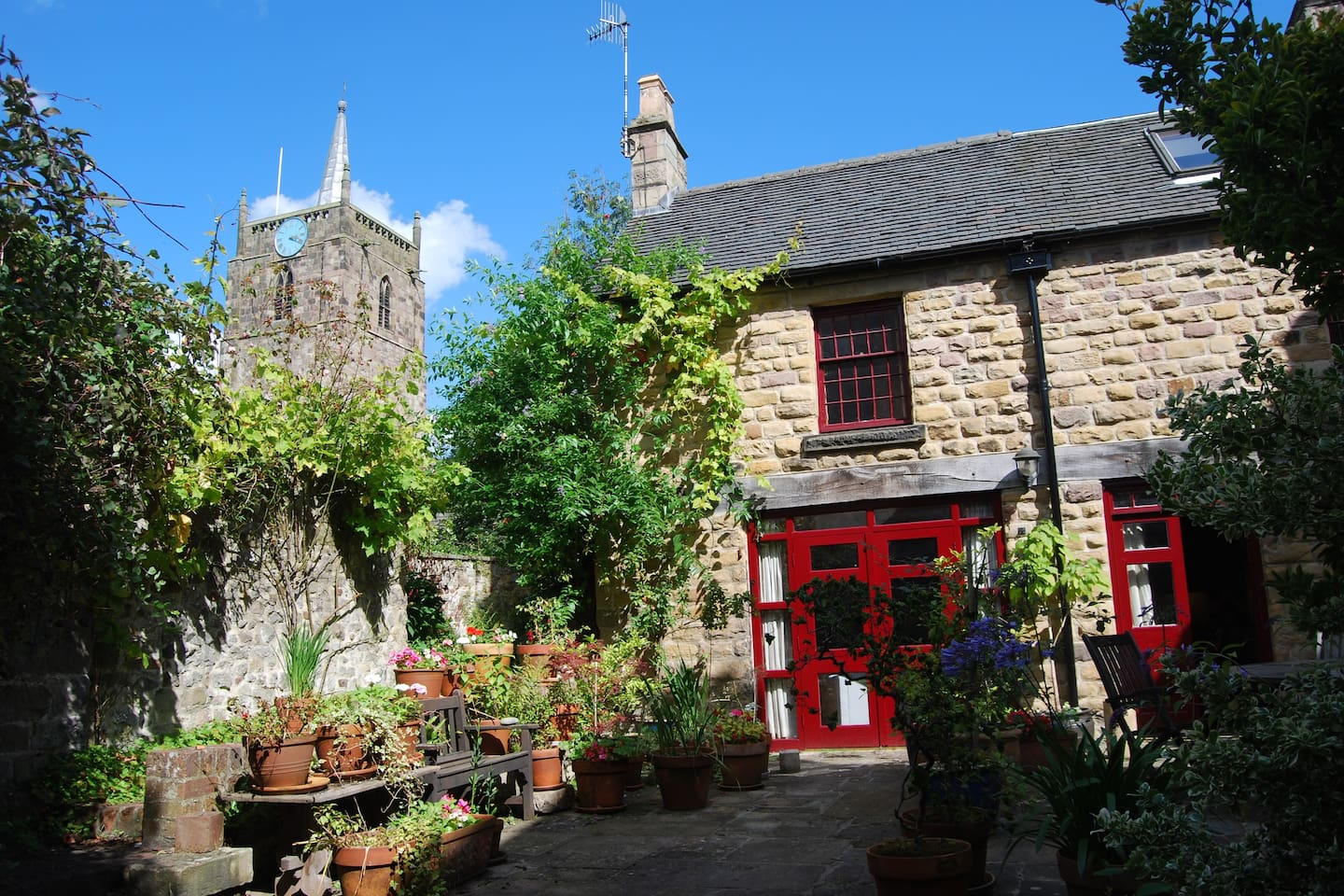 """""""The Angel Forge"""" a converted forge at the very heart of Wirksworth."""