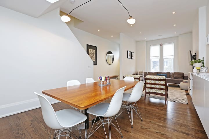 Contemporary 5 Bed in Greektown steps to subway - Toronto - Huis