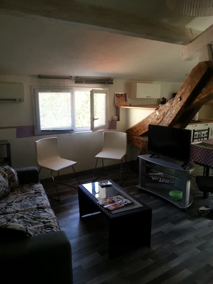 Home  zen appart 38m2, Béziers centre,15 mn plages