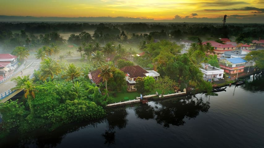 River View Rooms at Alleppey