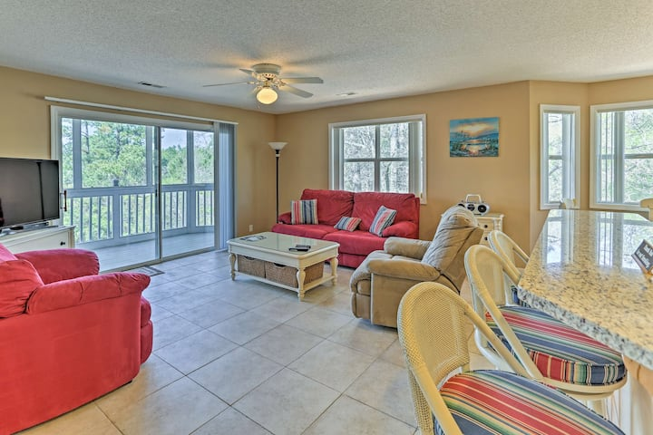 Southport Resort Condo w/Balcony,Pool+Beach Access