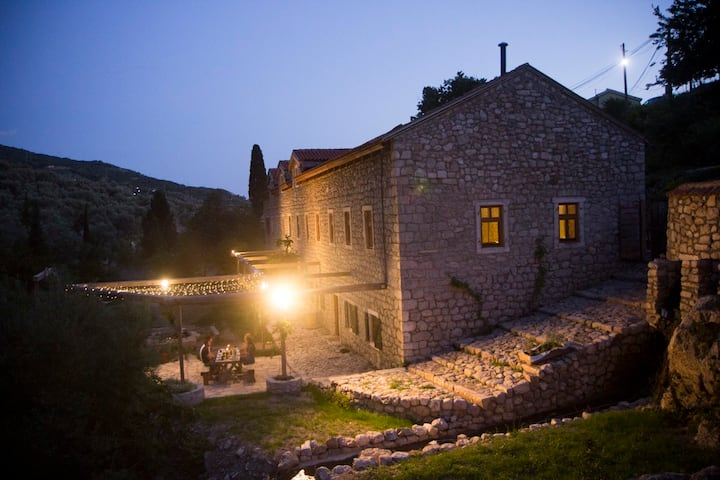 Large Stone Villa With Private Garden