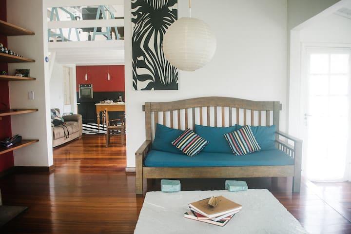Itaipava la casa del chef/cuarto - Petrópolis - Cabaña