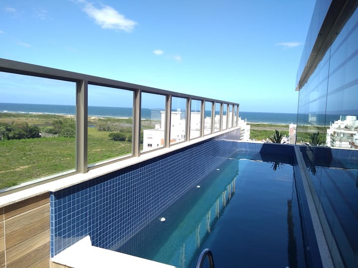 Cobertura Loft Campeche - 500m do mar com vista