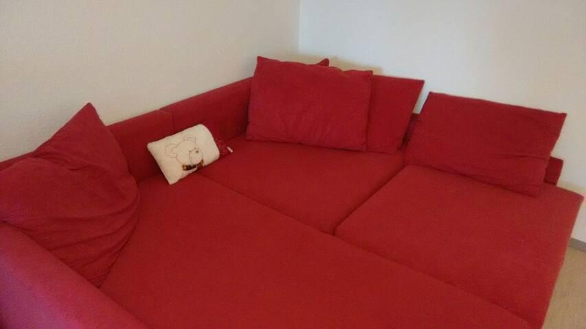 Couch und Bergblick - Kempten (Allgäu) - Appartement