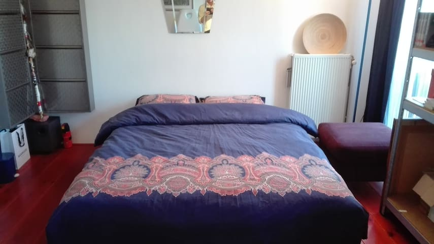 Large room near Amsterdam Central and the Airport - Assendelft - 아파트