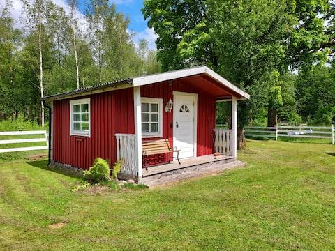 Cosy cabin close to nature