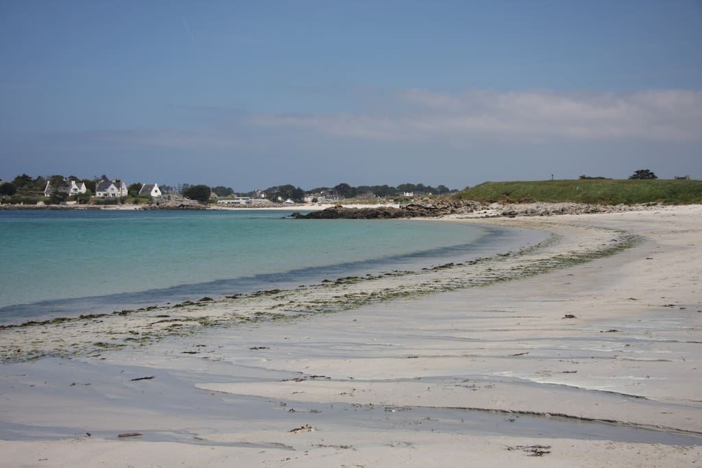 Accès plages à moins d'une minute