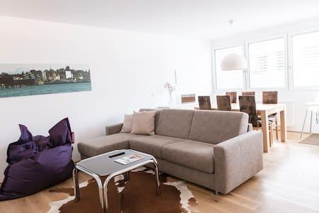 Stilvolle, helle Stadtwohnung zentral in Bregenz - Bregenz - 公寓