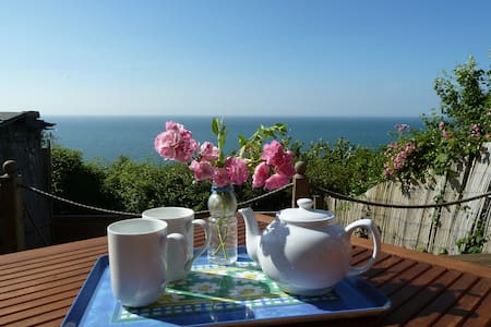 Oceanview Cottage, comfort & stunning views!