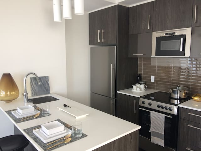 Modern Downtown Condo Steps from Parliament - Ottawa - Appartement en résidence