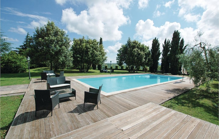 Awesome apartment in Lajatico (PI) with Outdoor swimming pool, 2 Bedrooms and Outdoor swimming pool