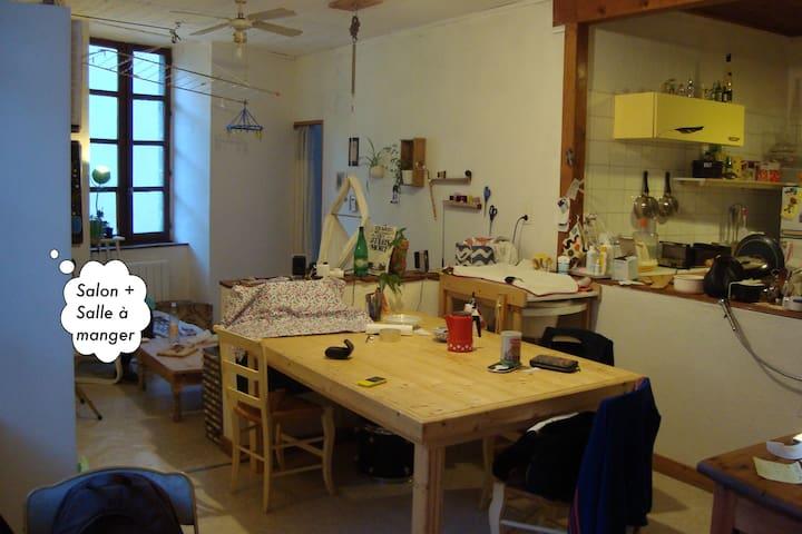 Centre de Die, idéal pr famille avec bébé - Die - Apartment