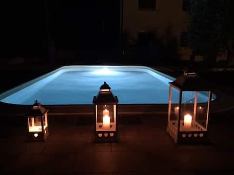 Poppy, Toskánsky dom s bazénom a vírivkou