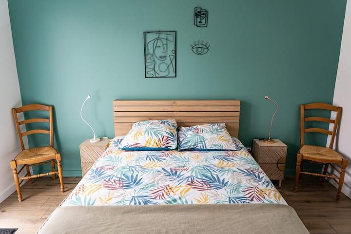 Chambre cosy au coeur du Pays-Basque